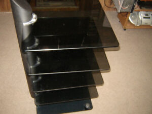 glass entertainment stand/unit