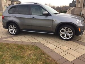 BMW X5!! XL Package, 7seats , 2011. Diesel. Extended Warranty. West Island Greater Montréal image 2