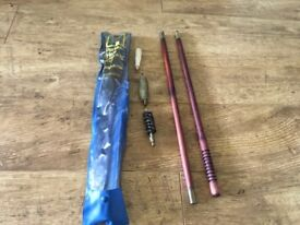Shot gun cleaning rod