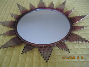 17 inch sun mirror from England