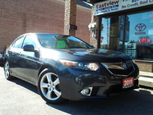 2011 Acura TSX NO ACCIDENT,AUTO,AIR,ALLOYS,SUNROOF$12899