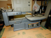 "Craftsman 16"" variable speed scroll saw in good condition"