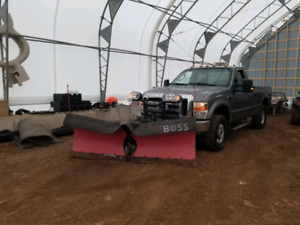 """2010 F250 XLT with 8'2"""" Boss V Plow"""