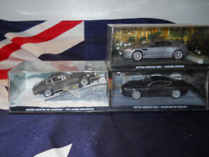 1/43 Diecast James Bond cars