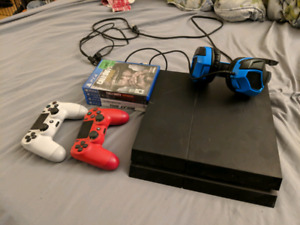 PS4 Gamer Starter Pack +Monitor+Controllers+Games