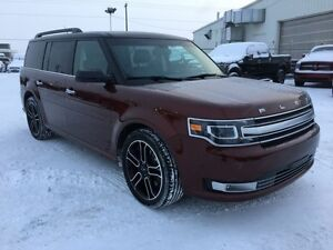 2015 Ford Flex LEATHER-ROOF-NAV   - Low Mileage