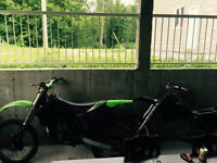 Kx 250 beaucoup d'extra