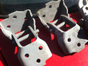 1967 Camaro Firebird Upper Door Hinges Original RS SS Z28