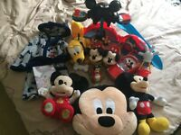 Large Disney Mickey Mouse bundle