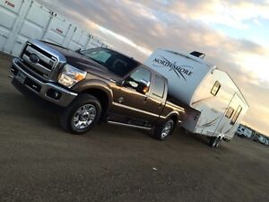 Northshore 5th wheel - with rear bumper hitch