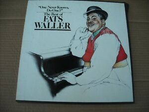 Fats Waller 3 LP Box Set - One Never Knows Do One? The Best Of.