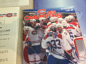 Montreal Canadiens  Press Notes