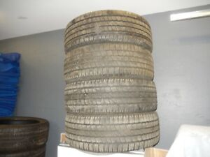 Set of 4 M+S P275/60R20 tires all for $375, 2 P275/45R22 $175.