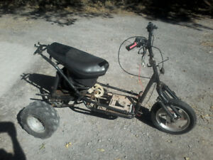 Homemade trike/3 wheeler