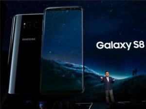 MINT SAMSUNG GALAXY S8 64GB UNLOCKED BLACK 3 MONTHS WARRANTY$375