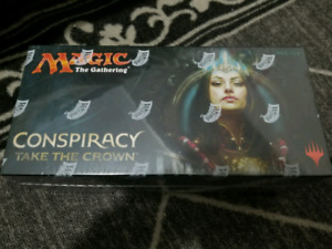 MTG magic the gathering conspiracy take the crown sealed booster