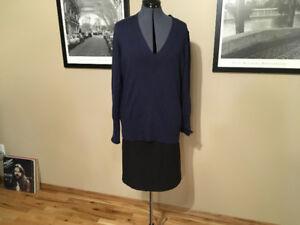 Navy Blue Banana Republic Sweater