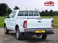 15 TOYOTA HILUX HL2 D-4D 4X4 DOUBLE CAB PICK UP TRUCK DIESEL MANUAL DIESEL MANUA