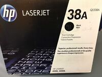HP LASERJET BLACK TONER CARTRIDGE 38A