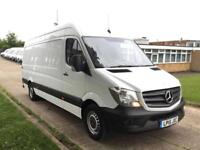 2015 15 MERCEDES-BENZ SPRINTER 2.1 313CDI LWB HIGH ROOF 130BHP. VERY LOW 23,000