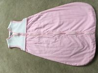 0-6 month 1 tog girls sleeping bag