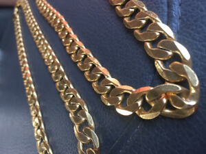 Gold Plated Stainless Steal Chains