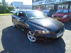 2007 Volvo C70 2.4 D5 Geartronic Sport - Black - AUTOMATIC + CONVERTIBLE!