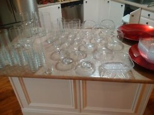Various Glass wear for Candy Bar/ Hot Chocolate bar