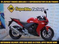 2016 66 HONDA CBR500 500CC 0% DEPOSIT FINANCE AVAILABLE
