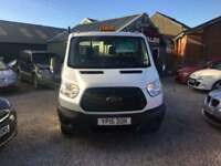 FORD TRANSIT 2.2 T350 C/C DRW TIPPER LOW MILEAGE FINANCE PARTX WELCOME