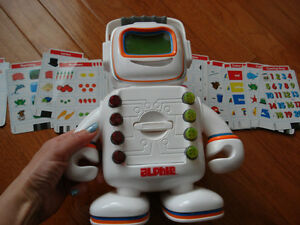 Alphie Playskool Teaching Robot