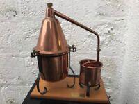 Copper pot Still made by Al Ambiq