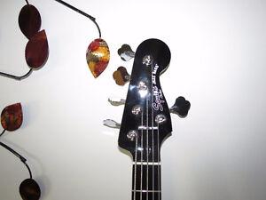 Basse Fender Squier 5 cordes Deluxe Jazz Bass V Active ENSEMBLE