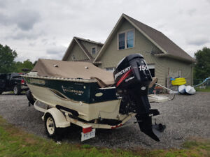 Fish and ski 150 hp 19 foot legend 312 hours