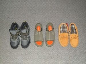 FOR SALE - (NEW)THINSULATE BOOTS- MOCCASINS SLIPPERS - SANDALS