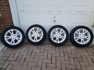 Jantes avec pneus 205/55 R16 tires with rims