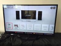 "Lg 42"" smart led full hd freeview tv"