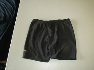 Womens Black Under Armour Athletic Shorts