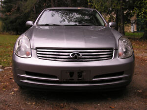 INFINITY G35 2006 AUTOMATIC  172,000KMS