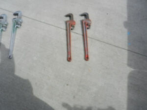 Rigid 24 in Pipe Wrenches