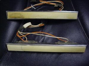 1966-70 olds toronado oem interior light assemblies