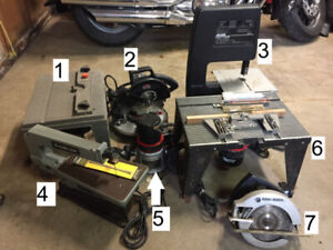 Wood Working Power Tools - Part 1