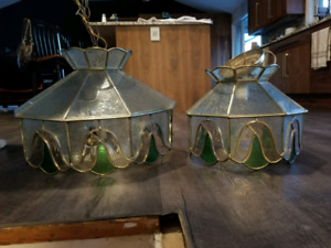 Tiffany style ceiling light fixtures