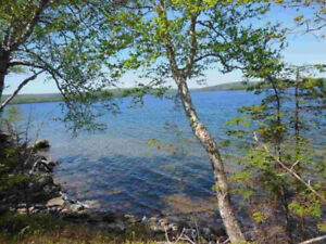 1.4 Acre Waterfront on Bras d'Or Lake