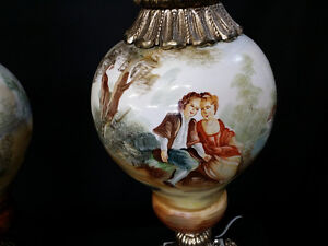 Two beautiful antique lamps Windsor Region Ontario image 2