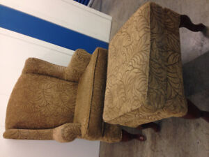 Chair and Ottoman -  Delivery