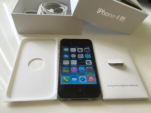 perfect condition iphone 4s-32gb Black