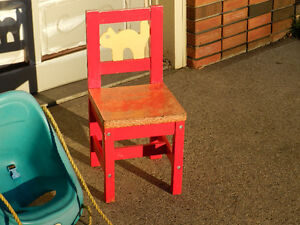 Kindergarten Chair and Swing Set Bucket Edmonton Edmonton Area image 2