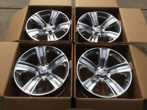 """NEW! RAM 1500 20"""" SPORT WHEELS WITH TPMS AND LUG NUTS (75% OFF)"""