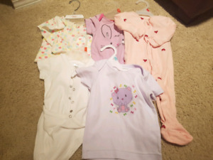25 items 3 to 6 month baby girl lot